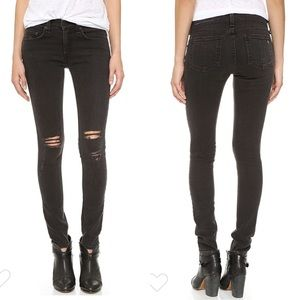 Rag & Bone/JEAN Distressed Skinnies